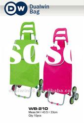 2012 Folding Shopping Trolley Bag Climb stairs floding shopping Bag Factory Directly Selling