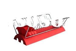 2012 new design foldable stainless steel plate rack with plastic drainer