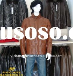 2012 quality brands leather garments