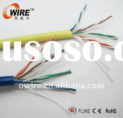 24awg 4 pair UTP pure copper lan cable cat5e shenzhen cable