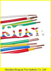 300/500V PVC Sheath PVC Insulated single core Copper electric cable