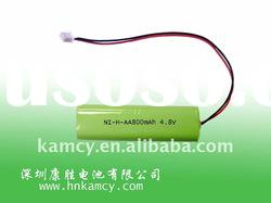 4.8v nimh rechargeable battery pack