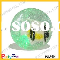50-100MM water Glitter 3D bouncing ball