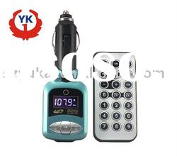 87.5-108.0MHz,with remote control wireless fm transmitter car mp3 players