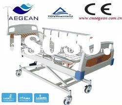 AG-BM105 3-position function hospital bed with iv stand