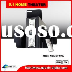 Active 5.1 home theater speaker system (GSP-6022)