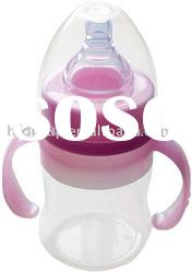BPA free silicon baby bottle