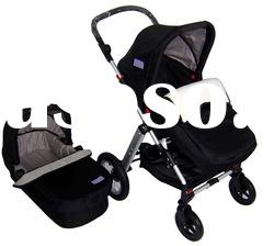 Baby sroller with car seats NB-BS106