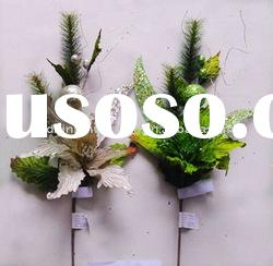 Beauttiful Fashionable Artificial Silk Flowers for Christmas Decorations