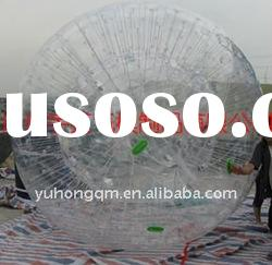 Bumper ball, zorbing, Giant inflatable human hamster ball,grass ball,land ball