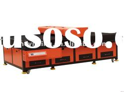 CO2 laser cutting flat bed with CE
