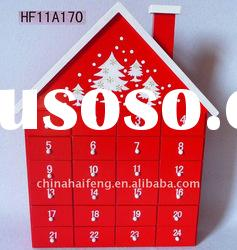 Christmas Wooden House Advent Calendar