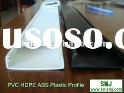 Customer design plastic extrusion profile with RoHS