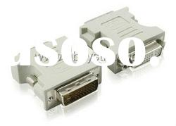DVI (24+1) male to DVI (24+5) female adapter