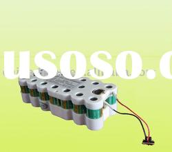 D 4500mAh 24v NiCad rechargeable battery packs for military using
