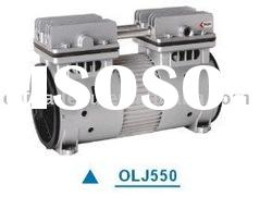 Dental oil free air compressor head:OLJ550