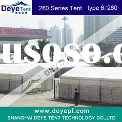 Deye 3x6m outdoor exhibtion tent,showroom,pvc fabric,aluminum frame