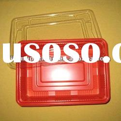 Disposable PET fast food container