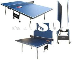 Double Wolf KBL-08T18 Folding Tennis Table with blue table top