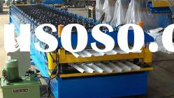 Double dec roof sheet roll forming machine