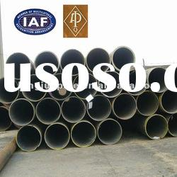 ERW Steel Pipes in Black Paint, with High Corrosion and Temperature Resistance