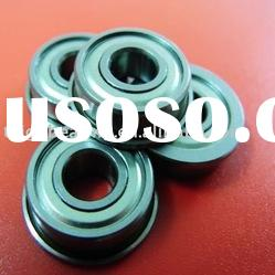FR2Miniature Ball Bearing, with flange, wide inner rings