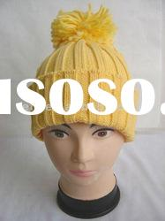 Fashion Acrylic Knitted Beanie Hat