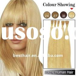 Fashion clip in indian hair extensions
