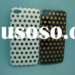 For iphone 4 with IMD patterns PET & TPU cellphone cases