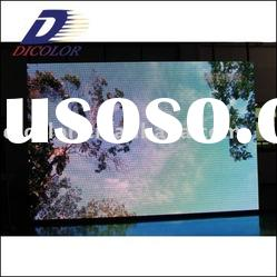 Full color outdoor led display screen advertising with 3G, 3D Technology