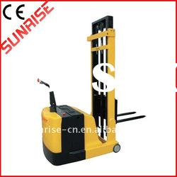 Full electric pallet stacker with CE