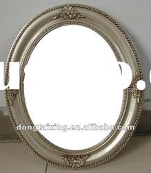 HANDMADE WOODEN FRAME MIRROR,oval decorative wall mirror