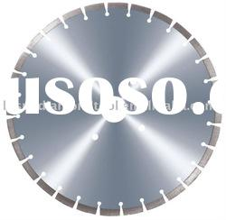 High-frequency diamond saw blade for stone