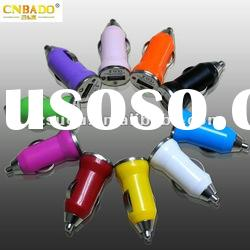 High quality Mini color Car Charger for iPhone ipod