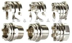 High quality nickel plated brass male/female inserts