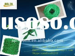 High quality pvc coated barbed iron wire (factory and export)