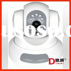 High-sensitivity indoor use Infrared Network IP Camera