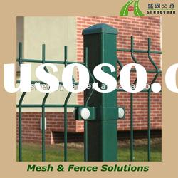 Hot dipped galvanized or PVC coated welded wire fence panel or post (manufacture)