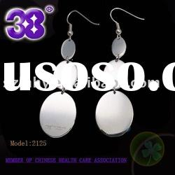 Hot fashion 316L stainless steel earring