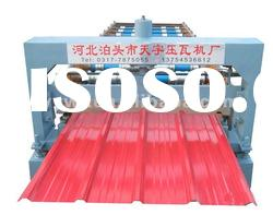 Hot sale automatic corrugated roof tile cold roll forming machine for steel