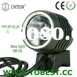 INTON high power cree xp-g r5 led cycle light led bike wheel light with battery (CE,RoHS,UL-STR)