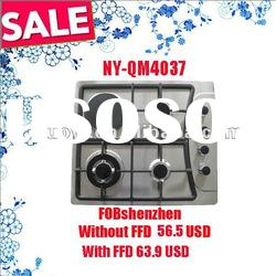 July Promotional kitchen appliance SS built-in gas hob NY-QM4037