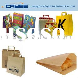 Kraft paper bag, Shopping paper bag, paper carrier bag