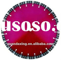 Laser welded circular saw blade for reinforced concrete