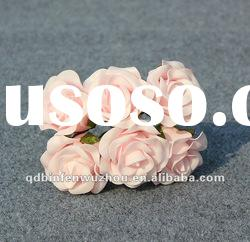 Light up Decorative Rose Wedding Flowers ,Artificial Foam Flower