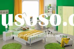 MDF children bedroom sets & coulourful furniture