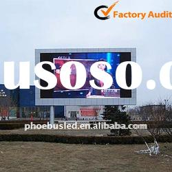 Manufacturer of P16 advertising full color led outdoor display