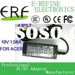 Mini 19v 1.58a laptop power adapter 30w for Acer