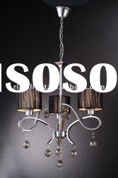 Modern style hot sell hanging crystal ceiling light RM9038-3