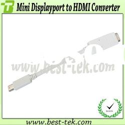 Molding type mini displayport to hdmi converter